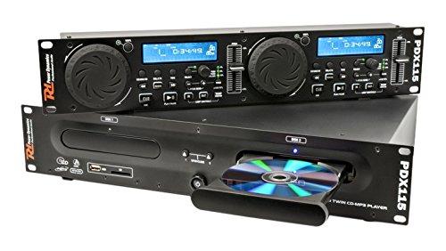 Power Dynamics pdx115HiFi CD Player schwarz–-Laufwerke CD (90dB, 20–20000Hz, LCD, drehbar, 220–240V, 50Hz)