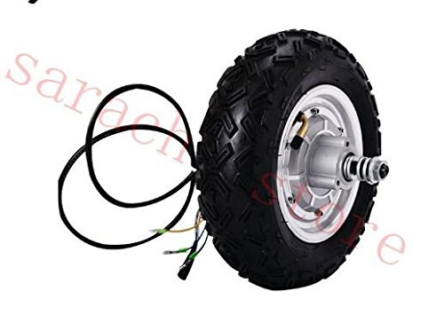 """hui hui wen 10"""" 36V/800W Electric Scooter Motor Brushless Non-Gear Hub Motor Replacement Accessory for Electric Scooter"""