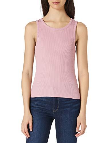 PIECES PCPESTINA SL Top Noos BC Camiseta sin Mangas, Zephyr, S para Mujer