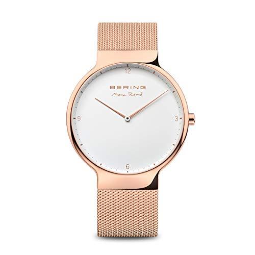 Bering Time Herren-Armbanduhr Analog Quarz Edelstahl 15540-364