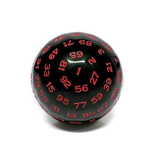 Galactic Dice Premium D100 Dice - Red