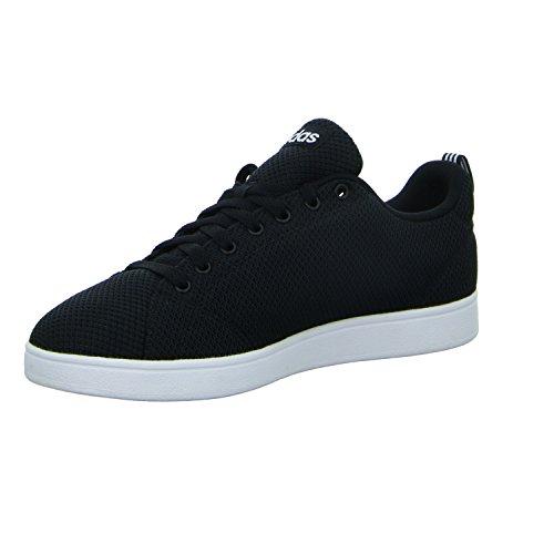 adidas Vs Advantage Clean, Scarpe da Tennis Uomo, Nero (Cblack/Cblack/Ftwwht Cblack/Cblack/Ftwwht), 48 EU