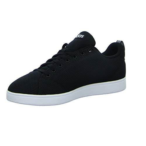 adidas Vs Advantage Clean, Zapatillas de Tenis Hombre, Negro (Cblack/Cblack/Ftwwht Cblack/Cblack/Ftwwht), 47 1/3 EU