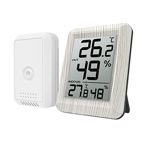 Elviray Classic Homeuse Indoor Outdoor 2 in 1 Mini Igrometro Umido preciso Termometro di umidit/à Misuratore di Temperatura Meccanico
