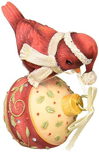 Enesco Heart of Christmas Merry Tweetmas Figurine, 2.83', Multicolor