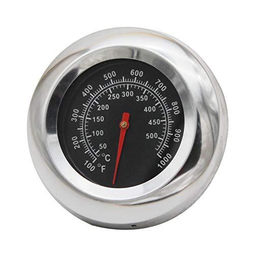 MENSI BBQ Barbecue Holzkohle-Grill Pit Holz RAUCHER Temperatur Gauge Grill Pit Thermometer Fahrenheit für Grill Fleisch Kochen Rindfleisch Schweinefleisch Lamb