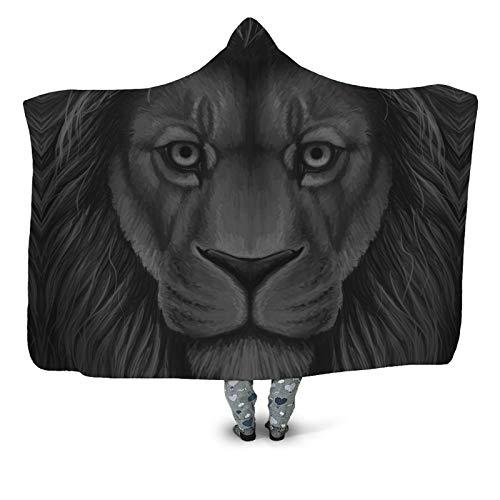 Manta de terciopelo ártico doble engrosada para invierno, chal con capucha de poli caliente, cómodo, sin pelo, desgaste