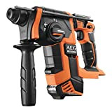 AEG Marteau perforateur SDS Plus brushless 18V sans batterie ni chargeur BBH18BL-O Noir/Orange