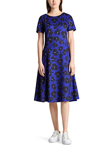 Marc Cain Additions Dress Vestito, Multicolore (Blue Violet 751), 48 (Taglia Produttore: 5) Donna