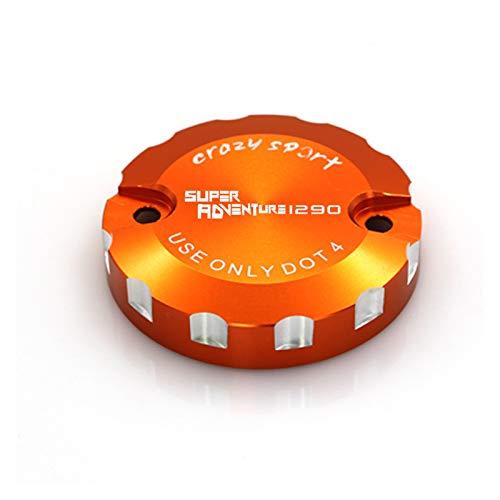 Xuefeng Accesorios de Moto Accesorios de fluidos de Aceite Taza de Tanque de Taza Delantero Freno de Cilindro de Cilindro depósito (Color : Orange)