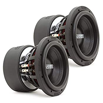 Sundown Audio X-8 Series Subwoofers 800W RMS/Subwoofer  Pair X-8 V.3 D4 8  Subwoofers