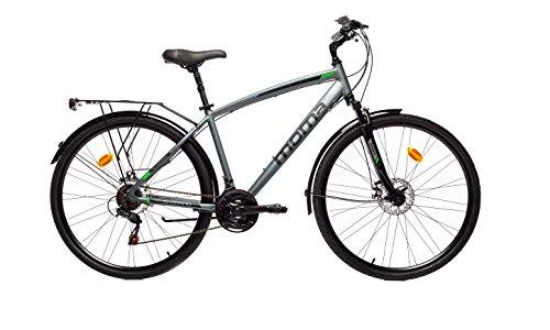 Moma Bikes Pro Trekkingräder, Grau, L/XL