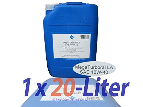 ARAL Mega Turboral LA 10W-40 20 Liter Eimer Man M 3477 MB 228.51