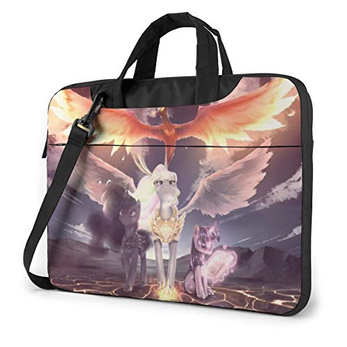 My Little Rainbown Pony Laptop Sleeve Bag Case 14 inch MacBook Air Pro Notebook Sleeve Case Portable Briefcase Tote Cases