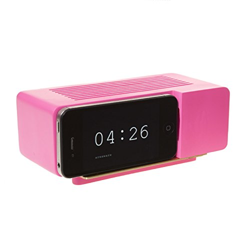 Areaware Alarm Dock Docking Station iPhone 4/4S roze