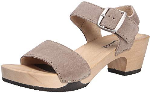 Softclox S3380 KEA Kaschmir - Damen Schuhe Sandaletten - 29-Schlamm, Größe:40 EU