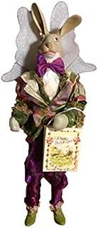 Mark Roberts Easter Bunny Fairy LG Purple Pants Green Jacket