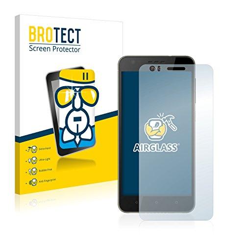 BROTECT Panzerglas Schutzfolie kompatibel mit HTC Desire 10 Lifestyle - AirGlass, extrem Kratzfest, Anti-Fingerprint, Ultra-transparent
