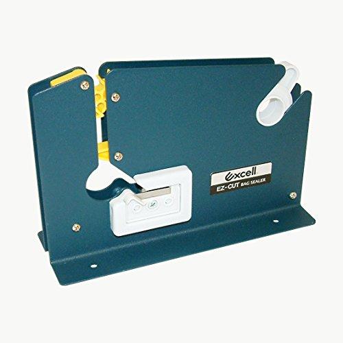 "excell 7605K/BLU05 Excell 7605K Bag Sealing Tape Dispenser: 1/2"" Wide, Blue"