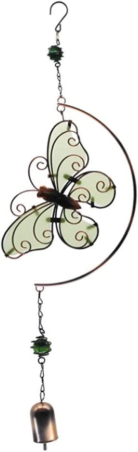 Butterfly Wholesale Wind Chimes Luminous Max 53% OFF Wrought Penda Iron Creative Bells
