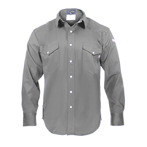 Product Image of the Flame Resistant FR Shirt - 88/12 (2XLarge, Light Grey)