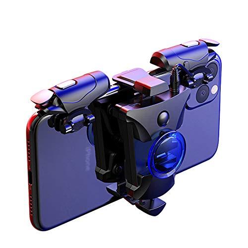 Control para Juegos De Aleación De Control PUBG Joystick Gamepad Mobile Smartphone para El Teléfono Android Gamepad Tirador del Disparador Botón De La Manija