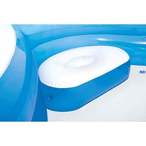 INTEX - Piscine familiale avec sièges 229x229x66 cm