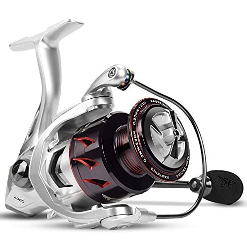 KastKing Spartacus II Spinning Reel, Size 3000 Fishing Reel, IPX5 Waterproof Rating,Sliver