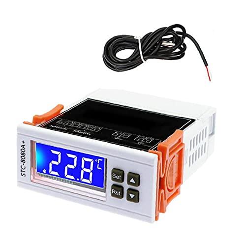 Controlador de temperatura 220V Calefacción digital Refrescicio de reptil de enfriamiento con descongelamiento del temporizador