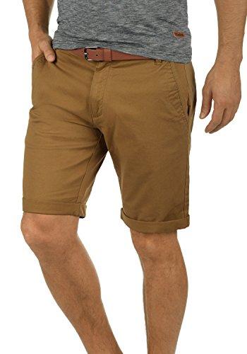!Solid Montijo Chino Shorts Bermuda Kurze Hose Mit Gürtel Aus Stretch-Material Regular Fit, Größe:XL, Farbe:Cinnamon (5056)
