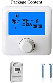 HY06WW Smart Thermostat Wifi Digital Water Heater Temperature Controller(white)()