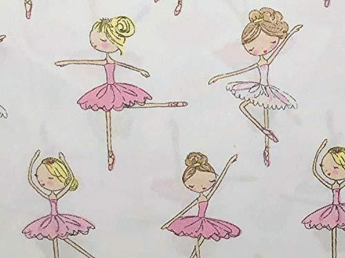 Bella Lux BALLERINA DANCERS Sheet Set - TWIN SIZE - ballerinas, dancing