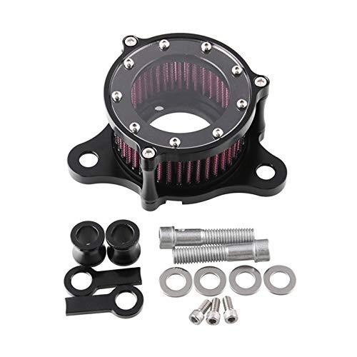 Sistema de Filtro de admisión Reutilizable de Purificación CNC Kit de Limpiador de Aire de Motocicleta Herramientas de reparación de Placa de Respaldo para Harley XL883 1200 x48