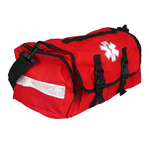 Dixigear First Responder On Call Trauma Bag W/Reflectors - Red