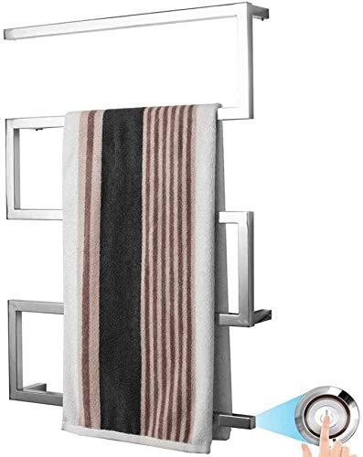 LXLH Calentador de Toallas con calefacción, toallero eléctrico con calefacción de Acero...