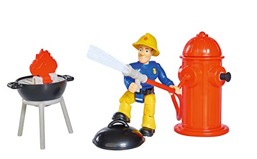Simba 109251000 Feuerwehrmann Sam Feuerlöscher Spielset