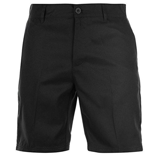 Slazenger Herren Golf Shorts Taschen Unifarben Schwarz 40