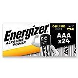 24-pack di Energizer Alkaline Power AAA batterie Resistente design garantisce che le batterie non fuoriescono in Storage così da essere pronto quando ne hai bisogno Lunga durata Potenza per la vostra famiglia Everyday da dispositivi, come telecomandi...