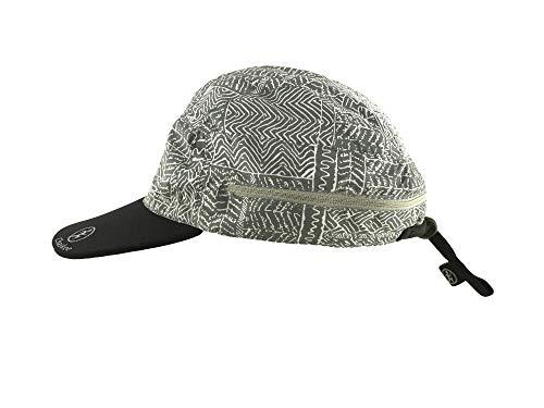 Chaskee Zuma Zip-In Cap Tribal Print Outdoorcap mit UV Schutz 80 (grau)