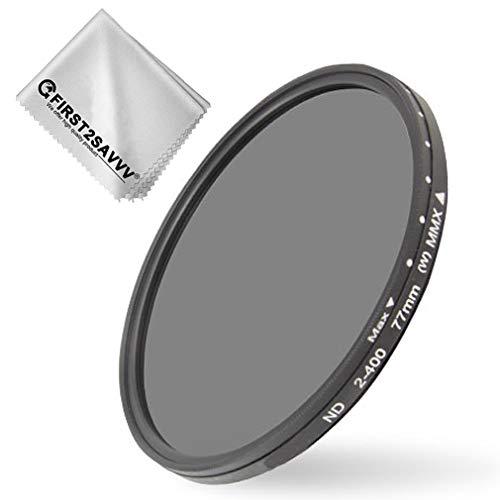 Variabler ND Filter ND2 400 Graufilter Dämmt wirkungsvoll einfallendes Licht Perfekt für Landschaftsfotografie und Architektur Aufnahmen (95MM)