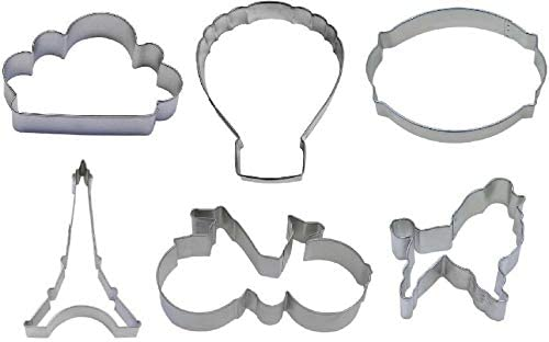 Cookie Cutter New products world's highest quality popular - Home Kitchen 6 Trust Cut Paris French Piece