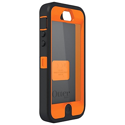 OtterBox Defender Series Case for iPhone 5 / 5S / SE (Not Compatible with Touch ID) Realtree Camo - Max 4HD Orange