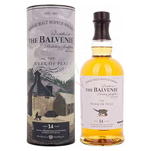 Balvenie The Balvenie 14 Years Old The WEEK OF PEAT 48,3% Vol. 0,7l in Giftbox - 700 ml