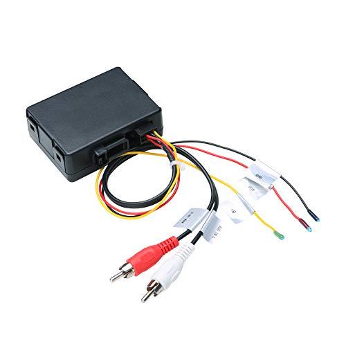XTRONS Optical Fiber Decoder Box Adapter for BMW E39 E46 E53 E90 E91 E92 E93