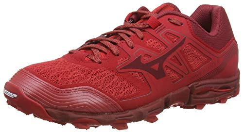 Mizuno Wave Hayate 6, Men's Asphalt Running Shoes, Red (Cred / Biking Red 56), 39 EU