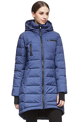 Orolay Women's Down Jacket Coat Mid-Length