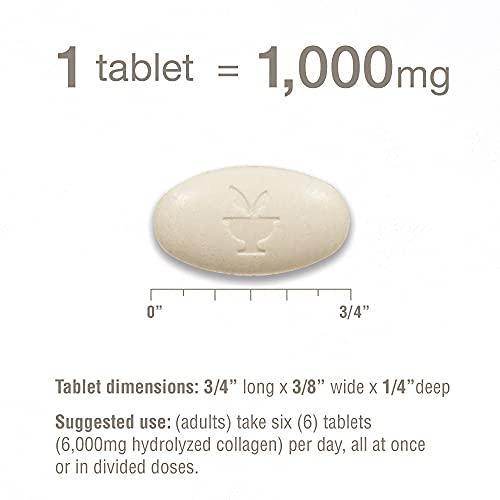 Youtheory Advanced Colágeno con Vitamina C, 290 unidades (1 botella)