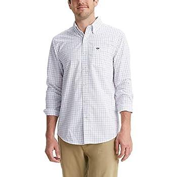 Dockers Men s Long Sleeve Button Up Perfect Shirt Blue Bird Plaid Small