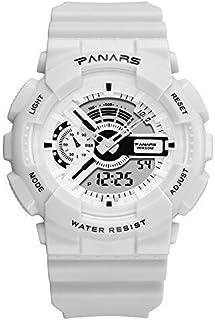 GengZn Digital Watch,Fashionable Multifunction Women Men 50M Waterproof Analog Digital LED Sport Luminous Backlight Large ...