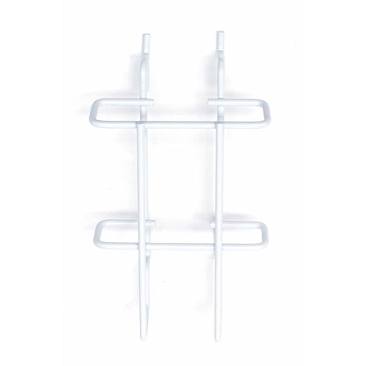 White OFFicial Literature Holder 4 W x 9 H Lot D 1 Inches of - 10 New Shipping Free